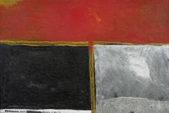 Mondrian's last chrysanthemum