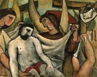 <em>Christ supported by Angels</em>, 1951