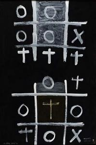 <em>Noughts and crosses, series 1, no. 1</em>, 1976