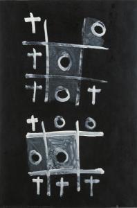 <em>Noughts and crosses, series 1, no. 5</em>, 1976
