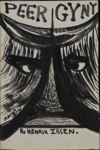<em>[Cover design for the programme to Peer Gynt by Henrik Ibsen]</em>, 1953