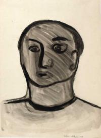 <em>Head</em>, 1958