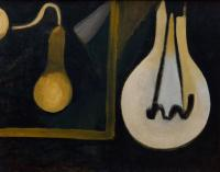 <em>The lamp in my studio</em>, 1944