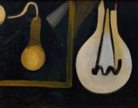 <em>The lamp in my studio</em>, 1944