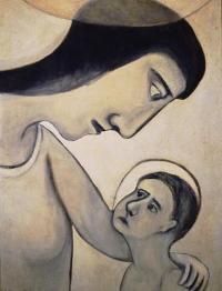 <em>Virgin and Child</em>, 1950