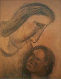 <em>Mother and Child</em>, 1948