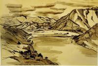 <em>[Lake Wakatipu from Frankton Flat]</em>, 1937