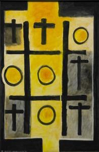 <em>Noughts and crosses, series 2, no. 4</em>, 1976