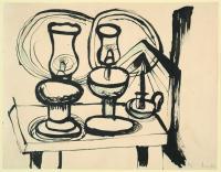 <em>[Still life with lamps]</em>, 1947