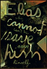 <em>Elias: Why cannot he save himself</em>, 1959