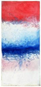 <em>Pink, blue and white painting</em>, 1963