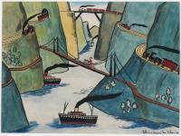 <em>[Painting for children]</em>, 1944