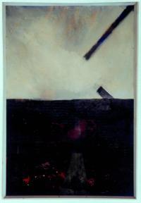 <em>A landscape - Fragments of a cross</em>, 1959