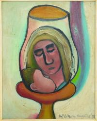 <em>Virgin and Child as a lamp</em>, 1950