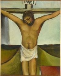 <em>Crucifixion</em>, 1950