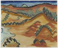 <em>Landscape from North end of Tomahawk Beach</em>, 1935