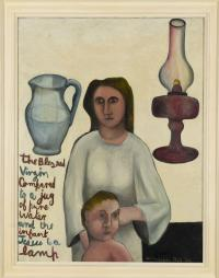 <em>The Virgin and Child compared</em>, 1948