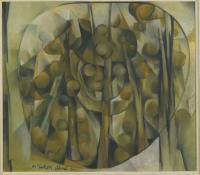 <em>Kauri trees</em>, 1954