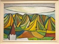 <em>Caterpillar landscape</em>, 1947