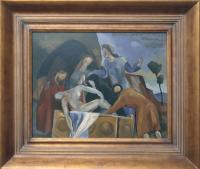 <em>Entombment after Titian</em>, 1946