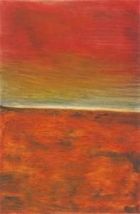 <em>A poem of Kaipara Flat - Evening, looking towards Waioneke</em>, 1971