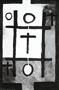 <em>Noughts and crosses, series 2, no. 2</em>, 1976