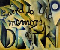 <em>Sacred to the memory of Death</em>, 1955