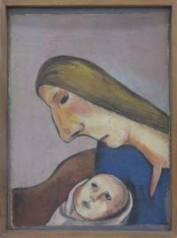 <em>Mother and child</em>, 1947
