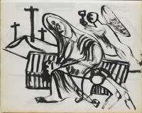<em>[Pieta with angel bearing cup]</em>, 1946