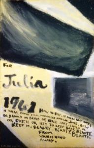 <em>[For Don and Julia: diptych]</em>, 1961