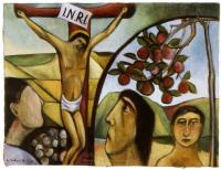 <em>Crucifixion: The apple branch</em>, 1950