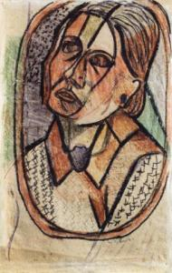 <em>[Oval Portrait of Anne]</em>, 1940