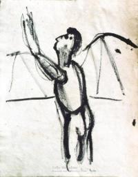 <em>[Study for Kennedy Crucifixion] </em>, 1946