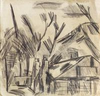 <em>[House and trees]</em>, 1940