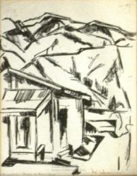 <em>Pangatotara looking to Brown Acre</em>, 1942
