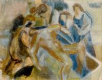 <em>Entombment</em>, 1947