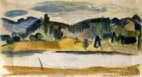 <em>Mapua Beach looking to Rabbit Island</em>, 1944