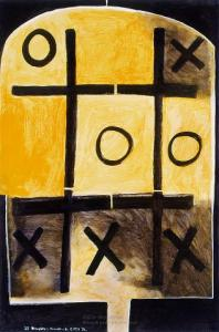 <em>Noughts and crosses, series 2, no. 6</em>, 1976