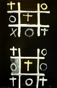 <em>Noughts and crosses, series 1, no. 2</em>, 1976