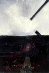 <em>A landscape - Fragments of a cross</em>, 1959