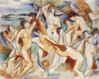<em>The Rape of Dejanira (after Michelangelo)</em>, 1953