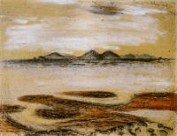 <em>[D'Urville Island from Ruby Bay]</em>, 1945