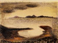 <em>[D'Urville Island from Ruby Bay]</em>, 1945