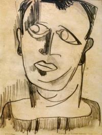 <em>Portrait of Rodney Kennedy</em>, 1939