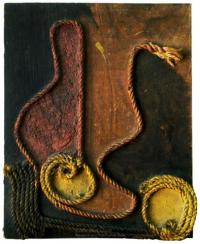<em>[Composition with rope collage]</em>, 1936