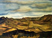 <em>Sketch for landscape from Flagstaff</em>, 1942