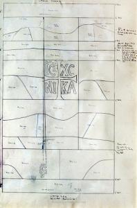 <em>This is the hill.  I Te Puke (Window for Te Puke, upper panel)</em>, 1970