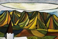 <em>Caterpillar landscape</em>, 1947