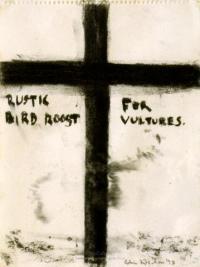 <em>Rustic bird roost for vultures</em>, 1973