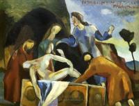 <em>Entombment after Titian</em>, 1946